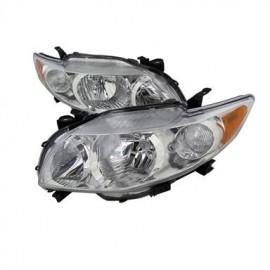 Headlamp Corolla 2009