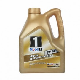 MOBIL ONE MOTOR OIL 0W-40 4 LITRES