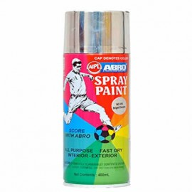 ABRO SPRAY PAINT (SILVER)