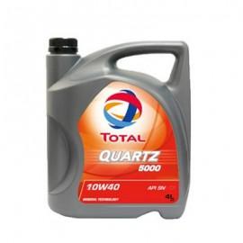 TOTAL QUARTZ 5000 MOTOR OIL 4 LITRES