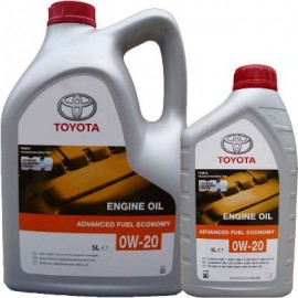 TOYOTA MOTOR OIL 0W-20 SYNTHETIC 4 LITRES